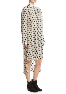 Zimmermann Rife Polka Dot Tunic Dress
