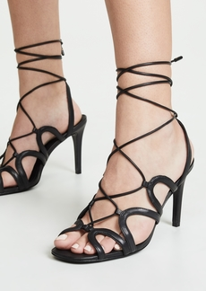 Zimmermann Scallop Heel Sandals