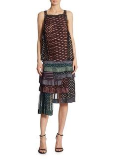 Zimmermann Sportive Layered Drop Waist Dress