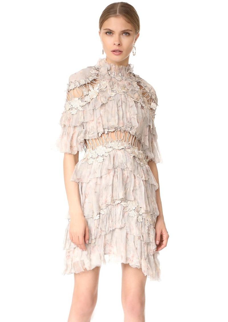 37b8d088a16c Zimmermann Zimmermann Stranded Tier Mini Dress | Dresses