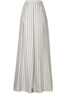 Zimmermann striped palazzo trousers - White