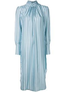 Zimmermann striped shirt dress - Blue
