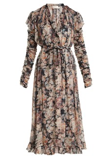 Zimmermann Tempest floral midi dress