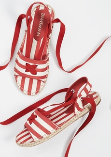 Zimmermann Tie Espadrille Sandals