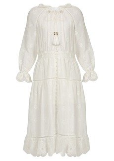 Zimmermann Tulsi broderie-anglaise button-down dress