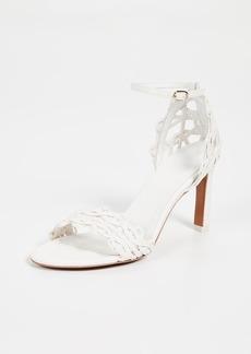 Zimmermann Wave Lattice Heel Sandals