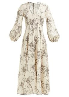 Zimmermann Wayfarer pineapple linen dress