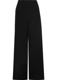 Zimmermann Woman Crepe Wide-leg Pants Black