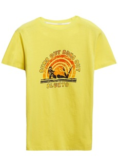 Zimmermann Woman Goldie Printed Cotton-jersey T-shirt Yellow