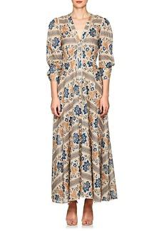 Zimmermann Women's Castile Floral Cotton Maxi Dress