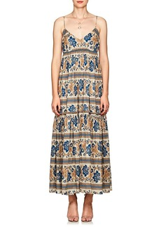 Zimmermann Women's Castile Floral Cotton Tiered Maxi Dress