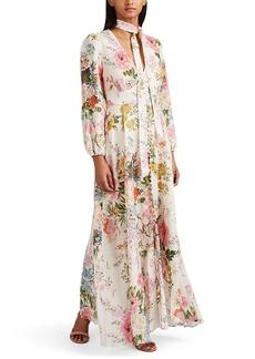 Zimmermann Women's Juniper Floral Linen Dress