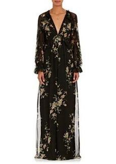 Zimmermann Women's Maples Feathery Floral Silk Chiffon Jumpsuit