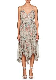 Zimmermann Women's Meadow Floral Silk Tank Dress