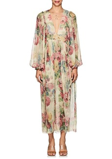 Zimmermann Women's Melody Silk Wrap Dress