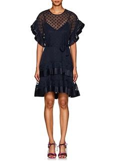 Zimmermann Women's Polka Dot Fil Coupé Dress