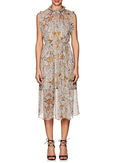Zimmermann Women's Silk Midi-Dress