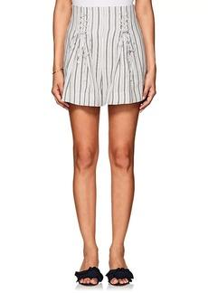 Zimmermann Women's Striped Linen Shorts