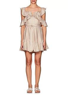 Zimmermann Women's Striped Minidress