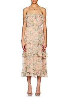 Zimmermann Women's Tempest Floral Silk Maxi Dress