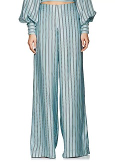 Zimmermann Women's Whitewave Striped Twill Pants