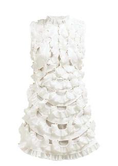Zimmermann Zippy fan-frilled mini dress