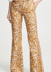 Zimmermann Zippy Golden Flare Pants