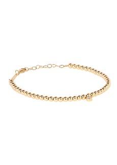 Zoë Chicco Gold Beaded Diamond Bracelet