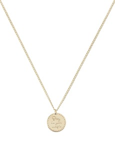 Zoë Chicco Stay In Your Magic Mantra Necklace