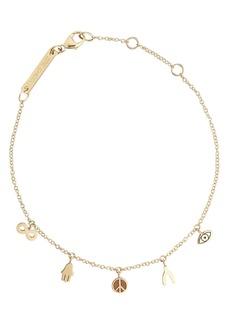 Zoë Chicco Itty Bitty Charm Bracelet
