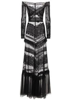 Zuhair Murad Jatuarana Lace Long Dress