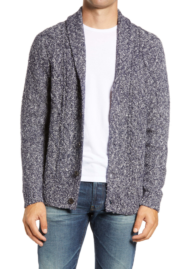 1901 Men's Shawl Collar Cardigan