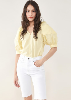 3.1 Phillip Lim Puff Sleeve Woven Top