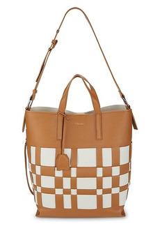 3.1 Phillip Lim Odita Lattice Leather Shoulder Bag