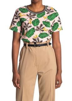 3.1 Phillip Lim Short Sleeve Floral Printed T-Shirt