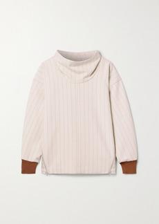 3.1 Phillip Lim Striped Woven Sweatshirt