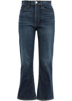 3x1 Woman Empire High-rise Kick-flare Jeans Mid Denim