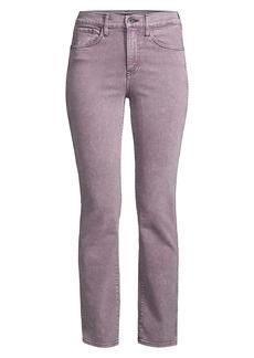 3x1 Stevie Mid-Rise Straight-Leg Jeans