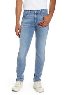 7 For All Mankind® Adrien Slim Fit Clean Pocket Skinny Jeans (Bignell)