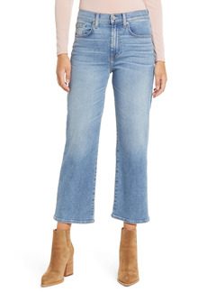 7 For All Mankind® Alexa High Waist Crop Wide Leg Jeans (Lakeside)