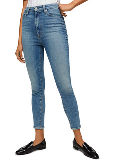 7 For All Mankind® Aubrey Ultra High Waist Ankle Skinny Jeans (Sloan Vintage)