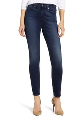 7 For All Mankind® High Waist Ankle Skinny Jeans (Park Avenue)