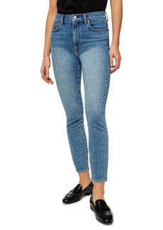 7 For All Mankind® High Waist Ankle Skinny Jeans (Spliced)