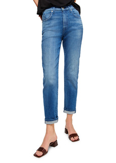 7 For All Mankind® Peggi High Waist Ankle Straight Leg Jeans (Aphrodite)