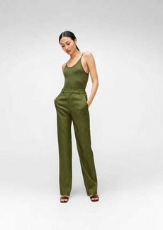 7 For All Mankind Bootcut Trouser in Military Green
