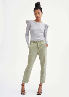 7 For All Mankind Slim Jogger in Military Green
