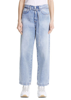 Acne Studios 1991 Toj Rigid Wide Leg Jeans (Light Blue)