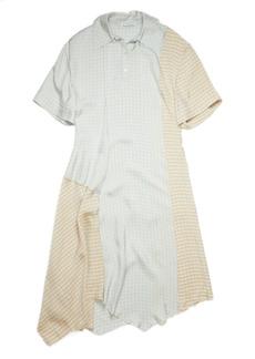 Acne Studios Damanda Vichy Check Shirtdress