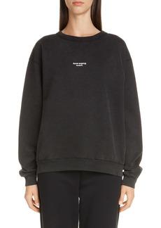 Acne Studios Fierre Reverse Logo Sweatshirt