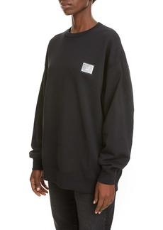 Acne Studios Forba Metal Patch Sweatshirt